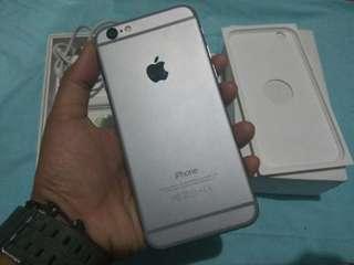 JUAL CEPAT IPhone 6 64GB Space Grey Fullset