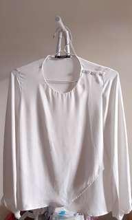 MANGO White Blouse