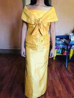 Filipinana dress