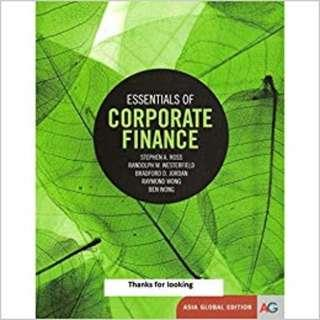 🚚 SUSS FIN303 Essential of Corporate Finance Solution Manual and Testbank