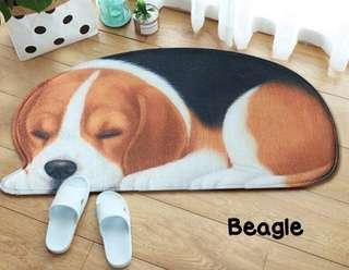 BEAGLE FLOOR MAT