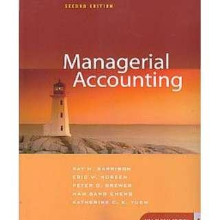 🚚 SMU Managerial Accounting 2nd Ed Solution Manual and Testbank