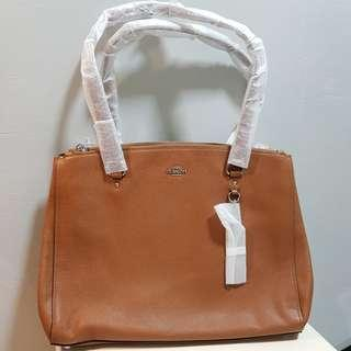 Authentic Coach Bag Brown