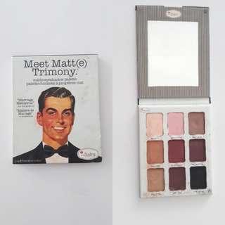 Meet Matte Trimony - Matte eyeshadow palette
