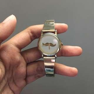Mustache Watch by Asos