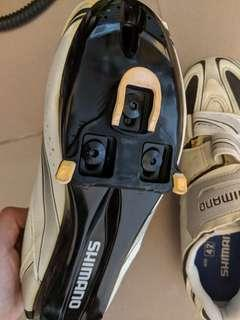 Shimano clip on shoes size 42
