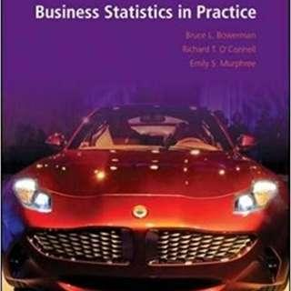 🚚 AB1202 Business Statistics in Practice 7th/8th ed