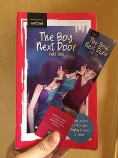 Wattpad book: The boy next door part two