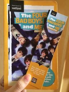 Wattpad book: the four bad boys and me part one