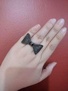 Fancy Ribbon or Bow Ring