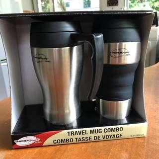 Thermos Warmer cup as Pair for sale