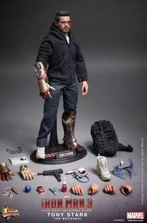 Hot Toys - MMS209 - Iron Man 3: 1/6th scale Tony Stark (The Mechanic) 動漫節 Special edition 版