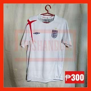 England Football Shirt Umbro x-tatic