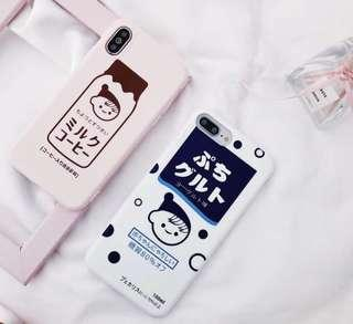 🚚 Milk themed phone case (po)