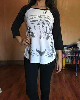 Tiger baseball shirt