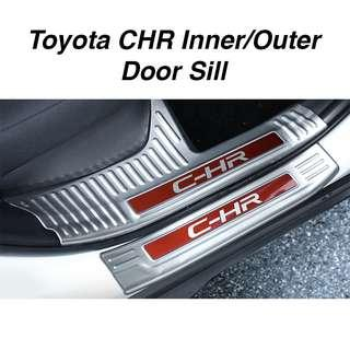 Toyota CHR Inner/ Outer Door Sill Scuff Plate