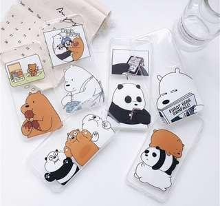 🚚 We Bare Bears Phone Casing (po)