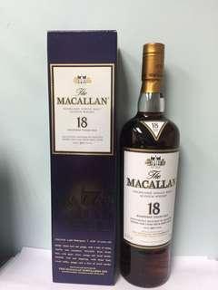 Macallan 18. Sherry Oak (2017)