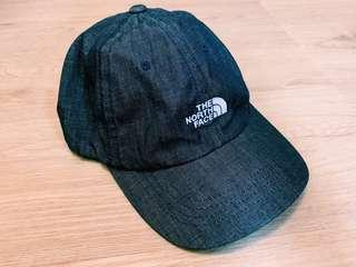 ✌︎近全新絕對正版TheNorthFace牛仔色帽