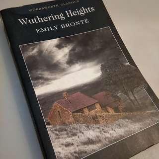 Wuthering Heights - Emily Bronte [STOCK TERBATAS]