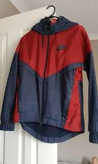 Nike size s hooded jacket