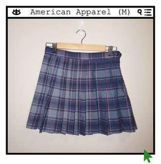 *Perfect Condition* American Apparel Plaid Tennis Skirt School Skirt Women Size M