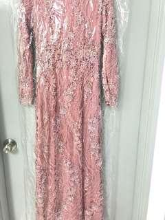 Full beaded custom made wedding dress [inspired by hanis zalikha wedding dress)