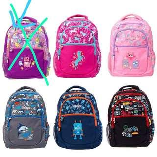 SMIGGLE School Bag/Pencil Case