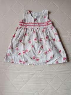 Dress nywan bunga bunga