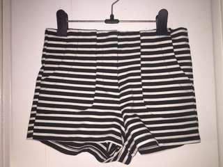 F21 Stripe Shorts