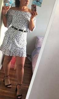 New spot dress