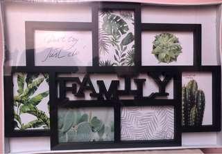 Frame Bingkai Foto Family