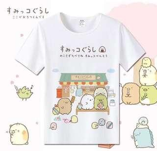 🚚 Sumikko Gurashi Shirt ( adults and children) (po)