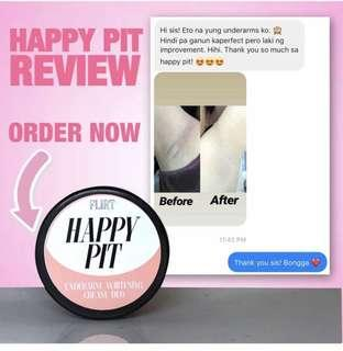 HAPPY PIT ALL IN ONE WHITENING AND DEODORANT