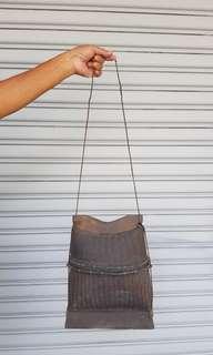 Bamboo and rattan bag handmade handicraft