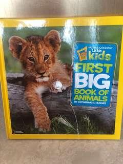 🚚 National Geographic Kids First Big Book of Animals