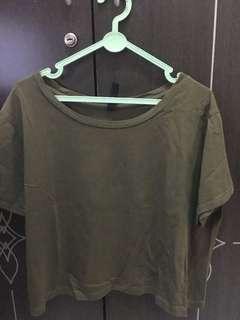 Basic T-shirt Crop