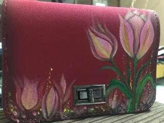 Hand-painted purse 😻