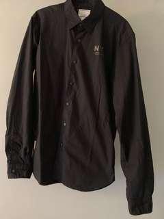 Chocolate NY Shirt L size (Black)