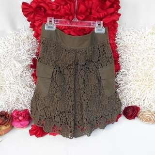 Authentic DVF Lace Skirt