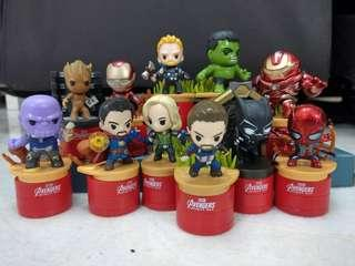Avengers Tesco Figurines Stamp Collectibles