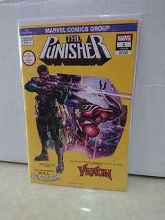 Punisher #1 Marvel Comic by Clayton Crain