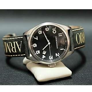 Original jam tangan Emporio Armani Black AR-0506 murah