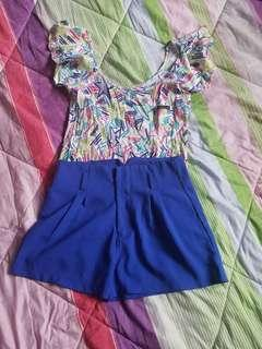 Terno Top & Shorts