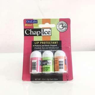 Chap Ice Set of 3 mini lip balm