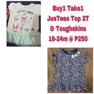 Baby Tops/Dresses 2T