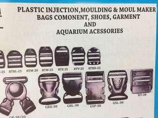 plastic injection, moulding & moul maker bags comonent, shoes, garment and aquarium acessories