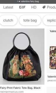 Auth Red Valentino nylon fairy bag