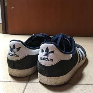 (Preloved) ADIDAS GAZELLE Navy