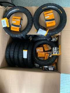 12 inch Continental tyre with tube